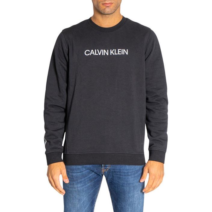 Calvin Klein Performance - Calvin Klein Performance Men Sweatshirts - black M