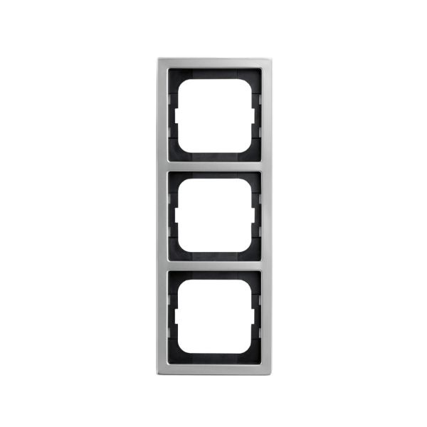 ABB 1723-866K Kombinasjonsramme RF, stål 3 rom