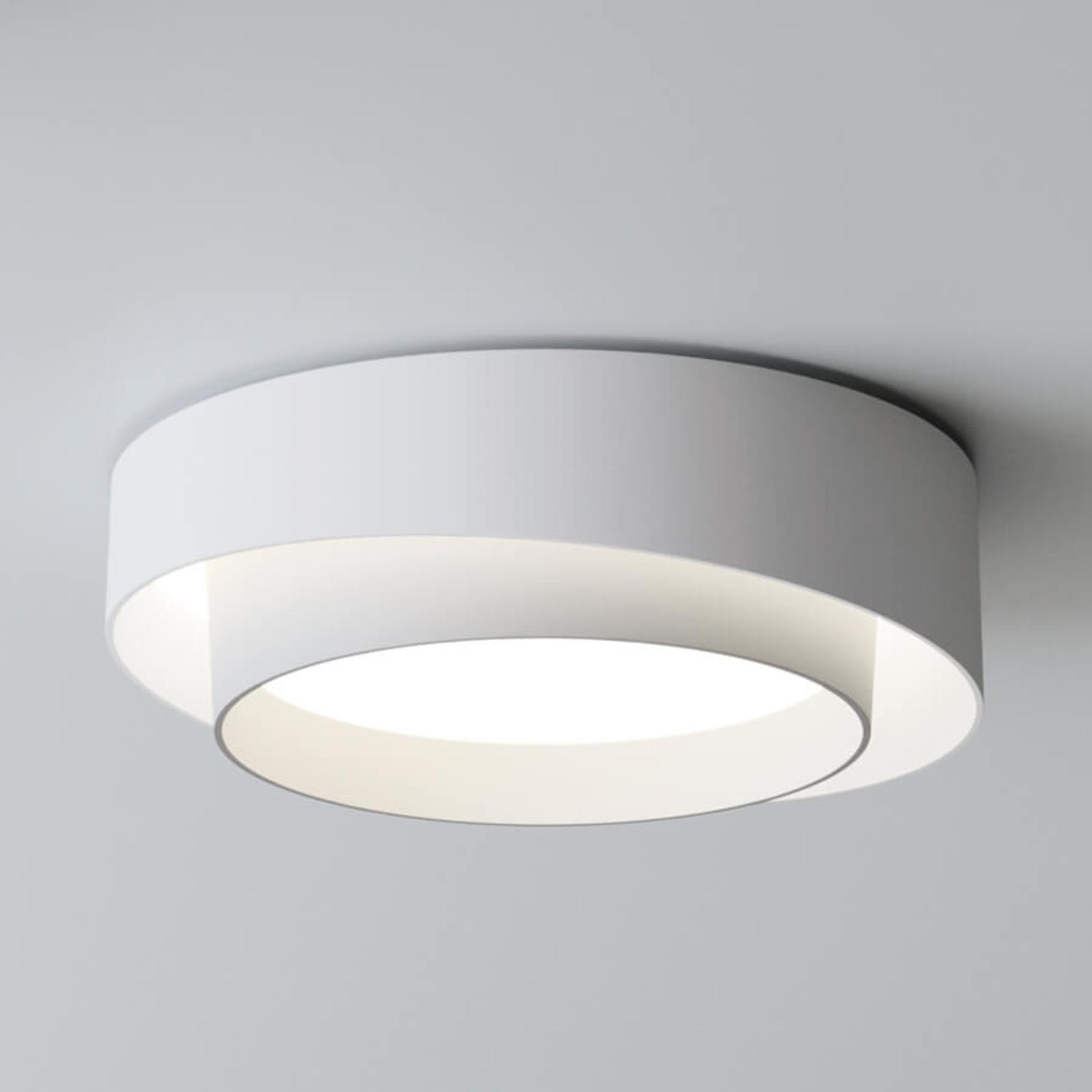 Valkoinen LED-design-kattovalaisin Centric