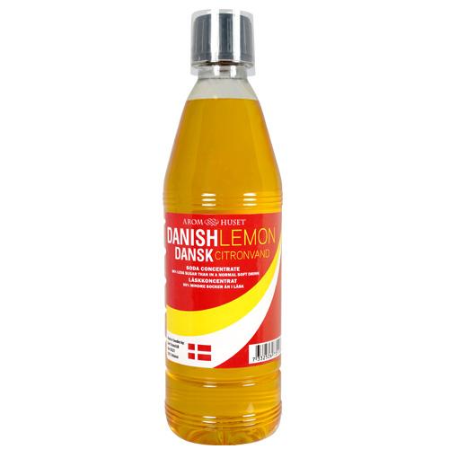 Dansk Citronvand Läskkoncentrat till 12 5 L läsk