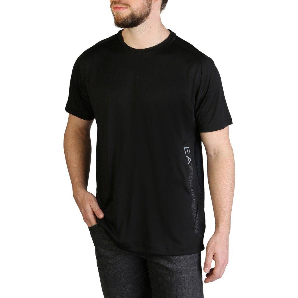 EA7 Men's T-Shirt Various Colours 3GPT44_PJH6Z - black S