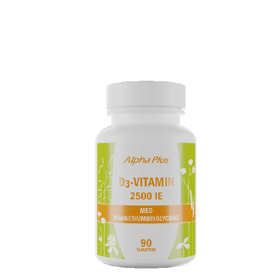 D3-vitamiini MerVital 2500IE, 90 tablettia