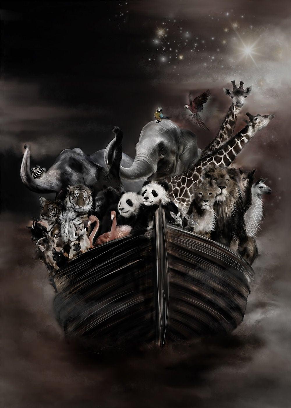 Linn Wold Juliste 50x70 Noahs Ark