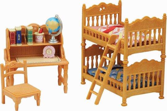 Sylvanian Families 5338 Children's Bedroom Set
