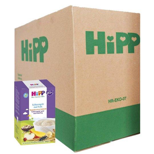 Hel Låda Barnmat Fullkornsgröt Med Frukt 4 x 480g - 82% rabatt