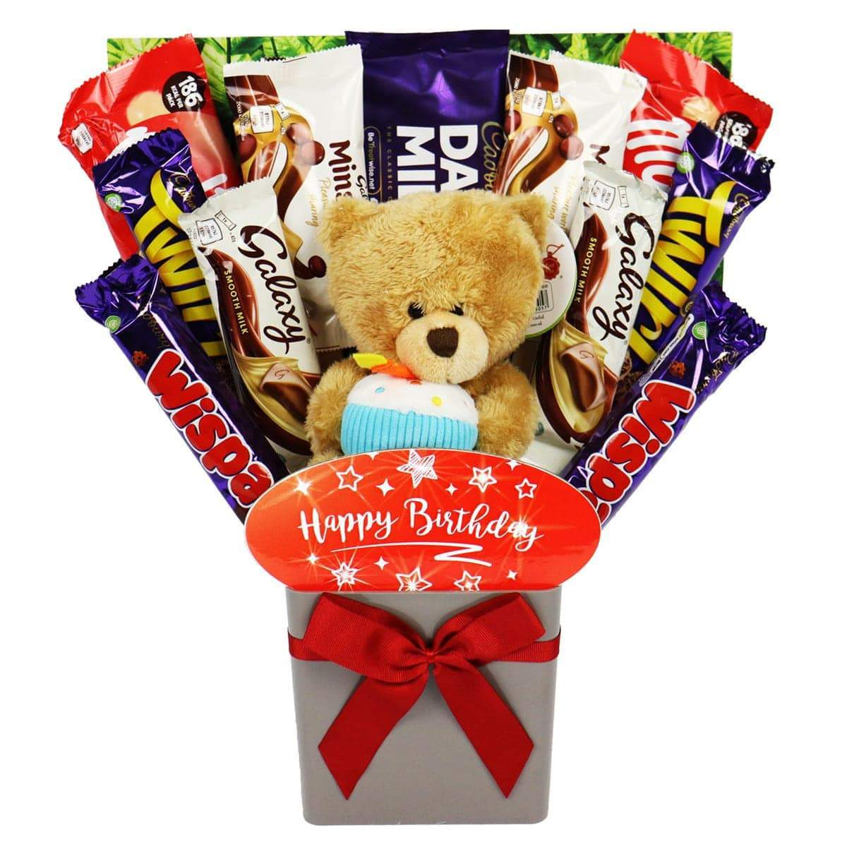 The 'Happy Birthday' Teddy Bouquet
