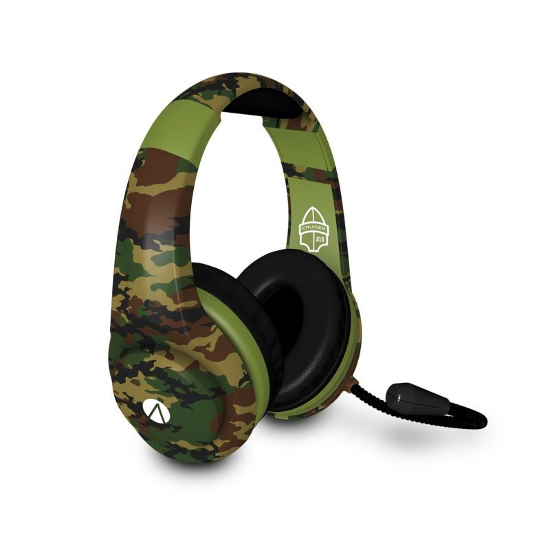 Stealth - XP Cruiser Multiformat Gaming Headset (Woodland Camouflage)