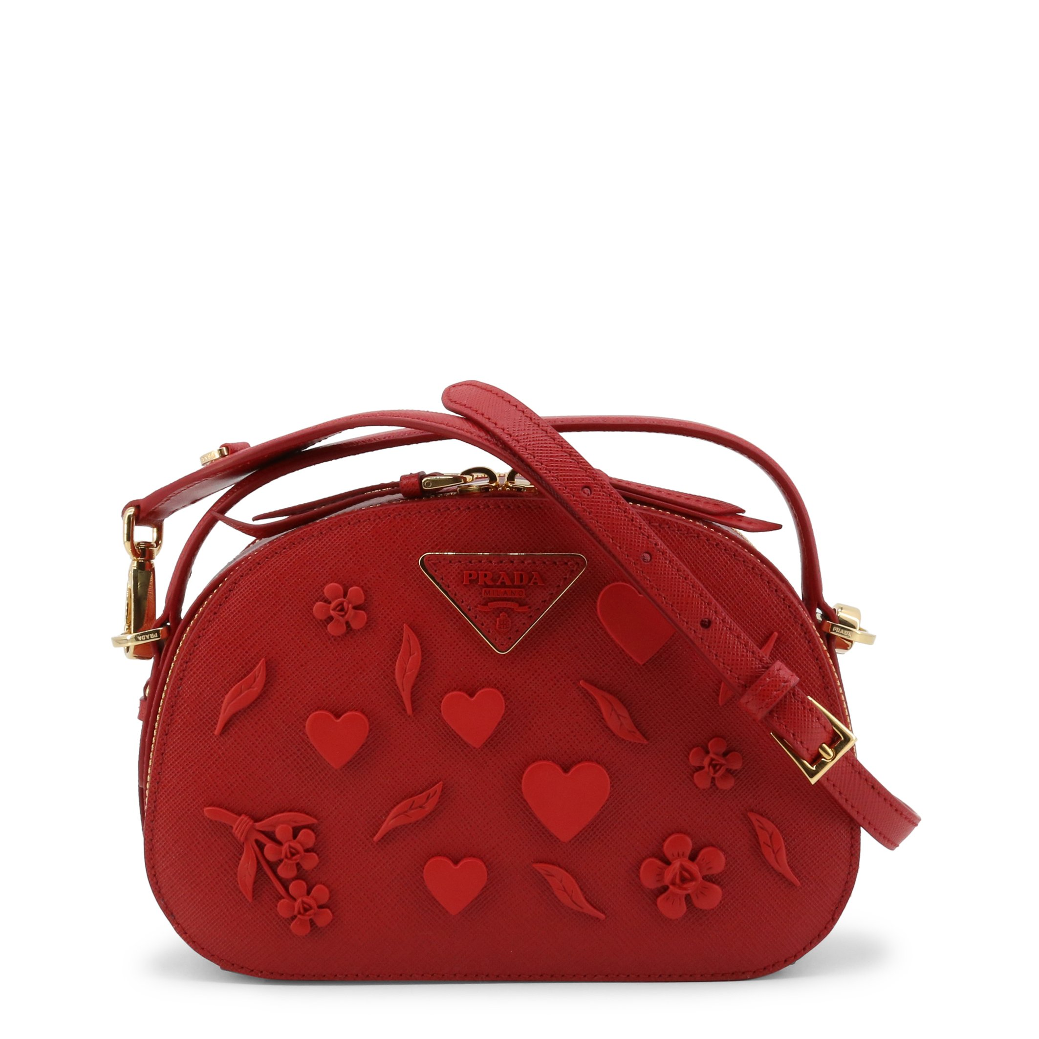 Prada Women's Handbag Various Colours 1BH123_NZV - red NOSIZE