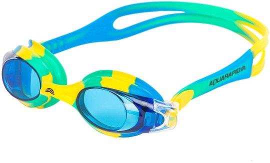Aquarapid Swimkid Svømmebriller, Gul/Blå