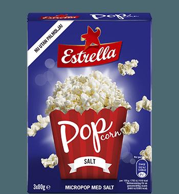 Estrella Micropopcorn Salt 3-pack