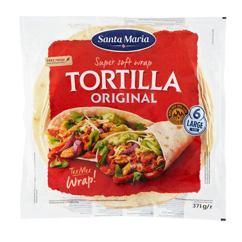 Tortilla Original Large 6-pack - 25% rabatt