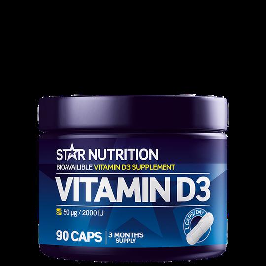 Vitamin D3, 90 caps