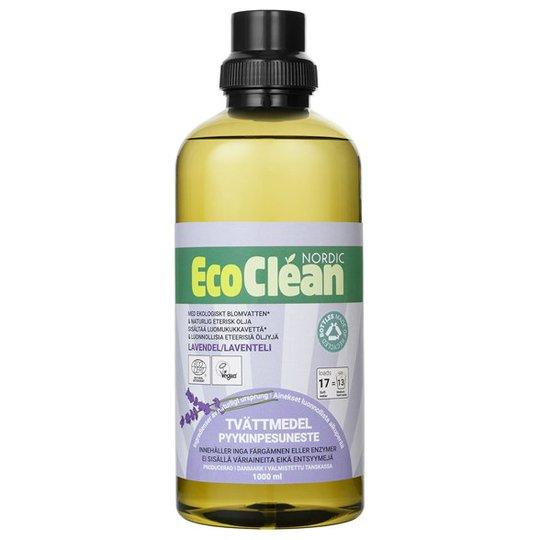 EcoClean Nordic Naturligt Tvättmedel Lavendel, 1 L