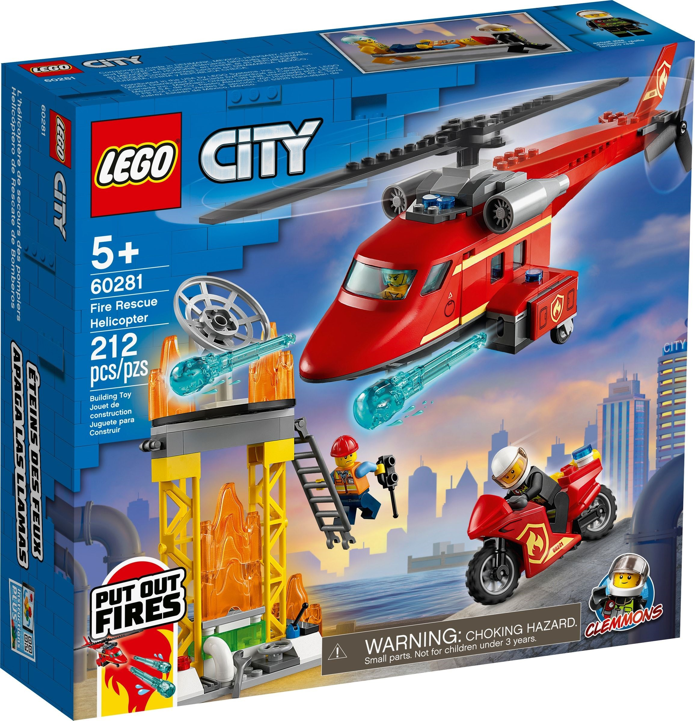 LEGO City - Fire Rescue Helicopter (60281)