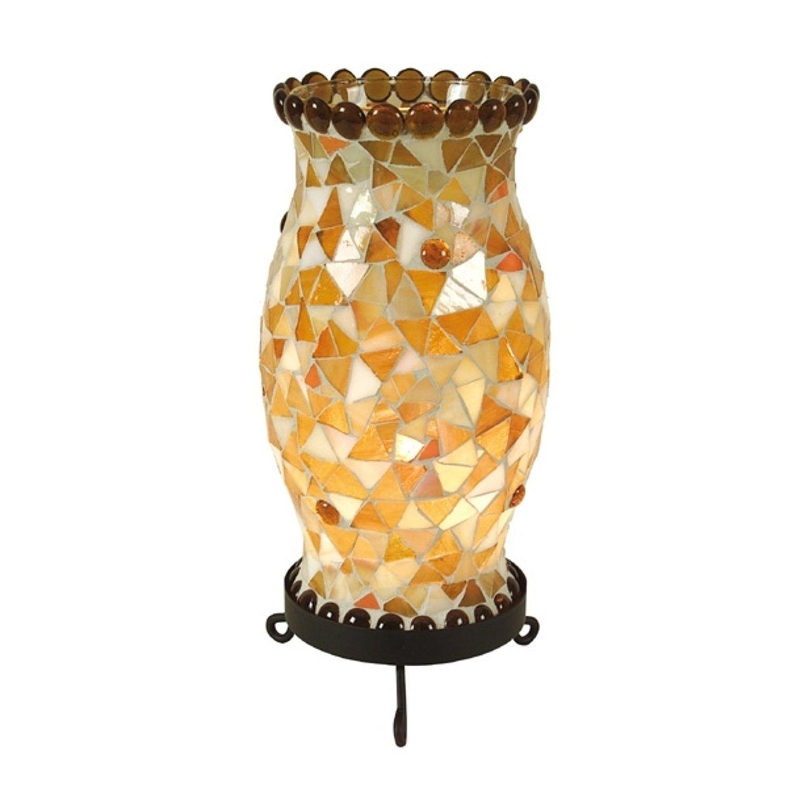 Bordlampe Enya krembrun