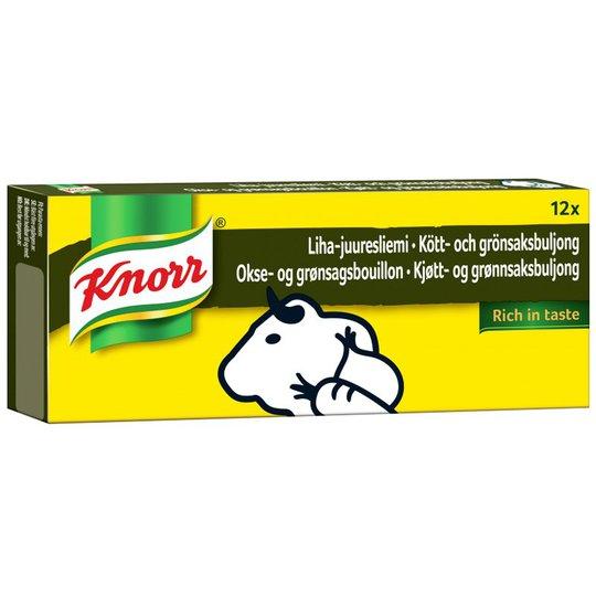 Liha & Kasvis Liemikuutio 12 x 10g - 50% alennus