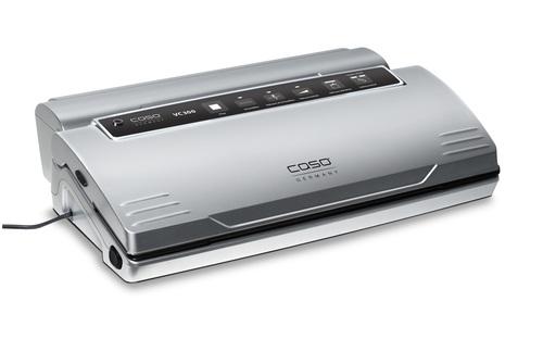 Caso 1392 Vc300 Pro Silver 120 Watt Vakuumföpackare - Svart/silver