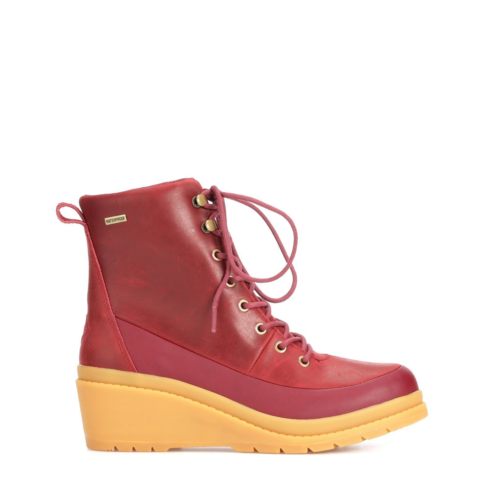 Muck Boots Women's Liberty Leather Ankle Boots Various Colours 31813 - Cordovan 7.5