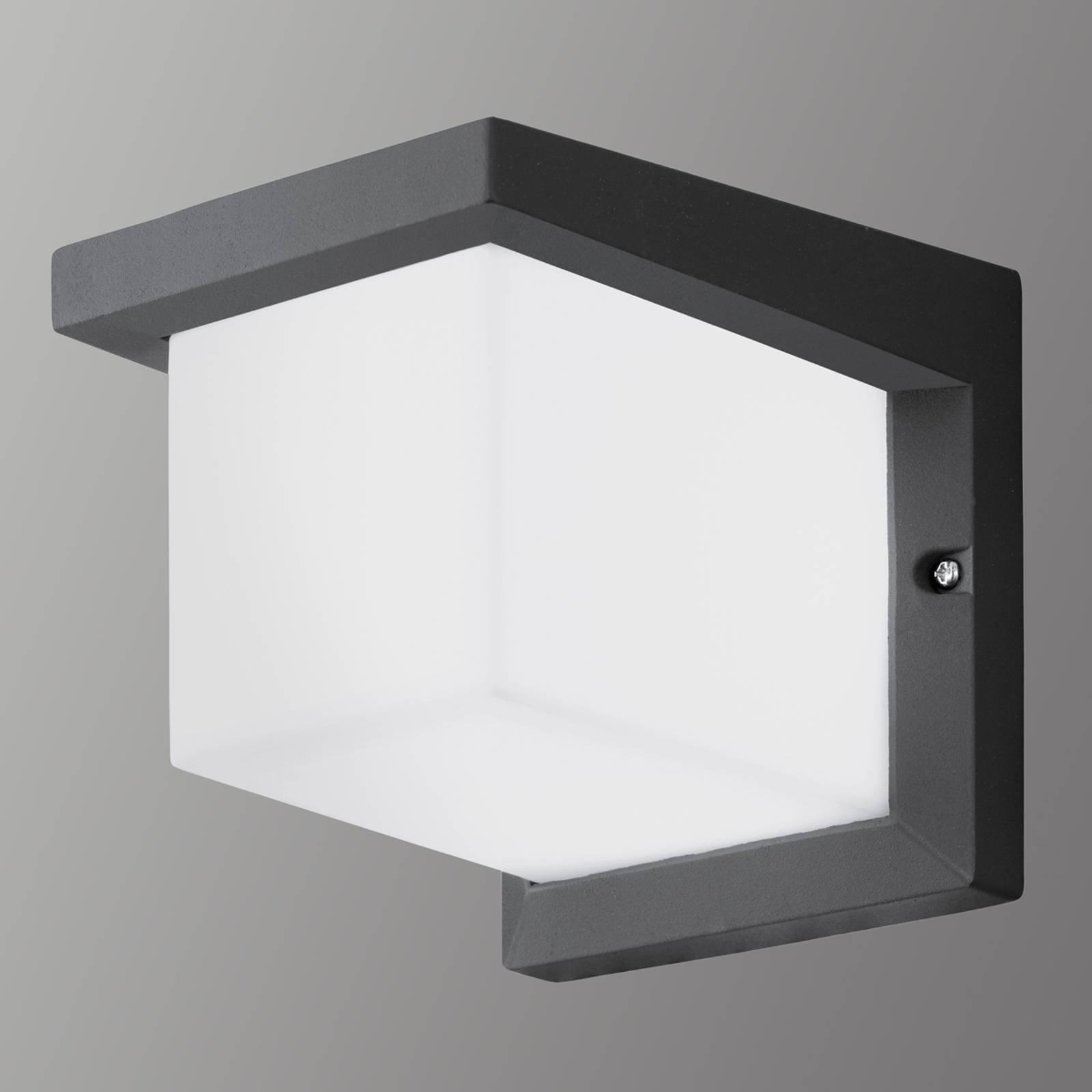Terningformet LED-utevegglys Desella
