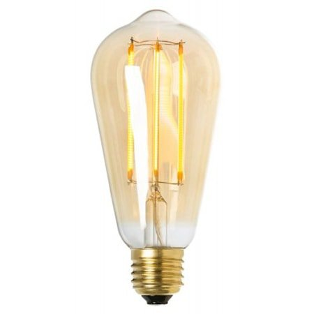 LED drop gold E27 4W
