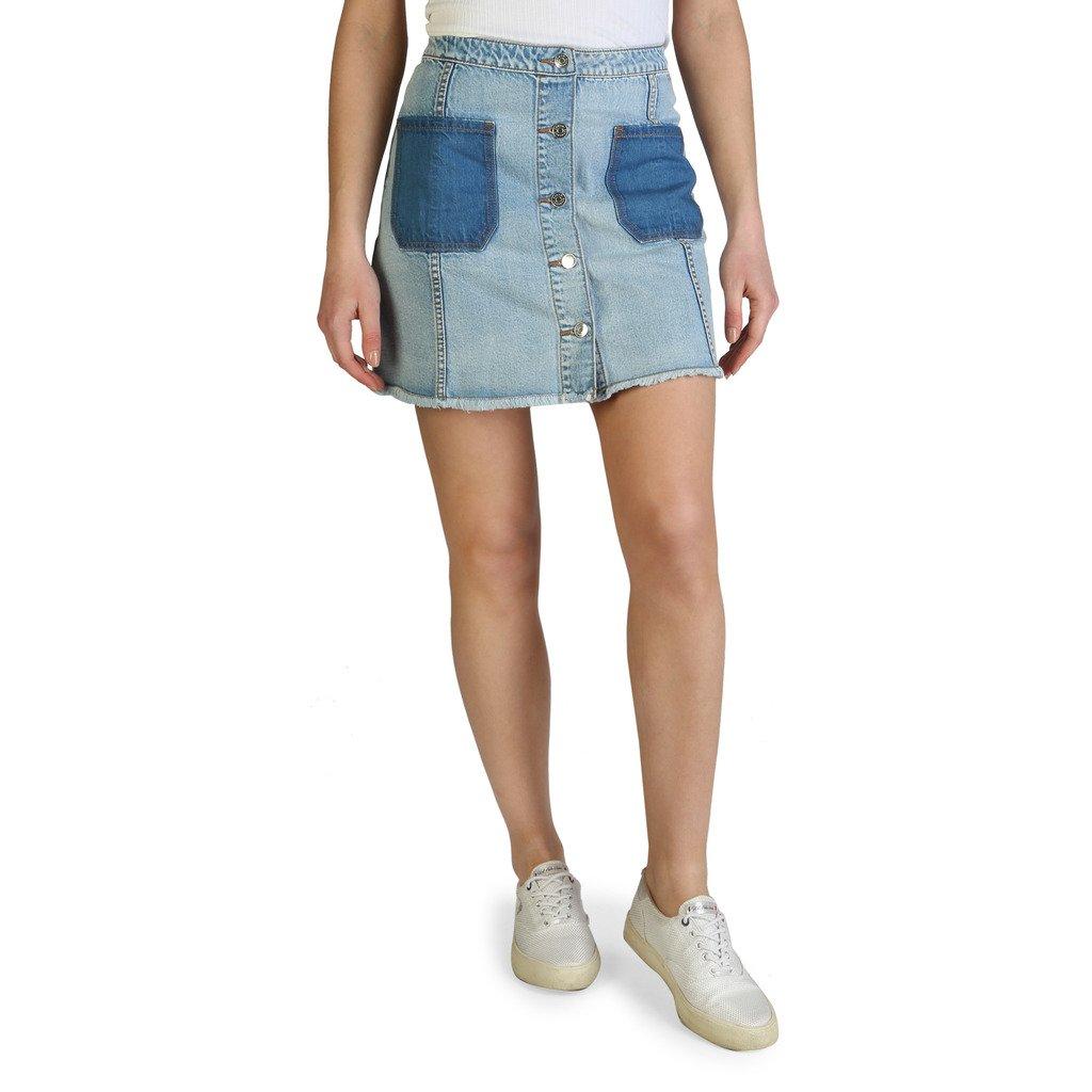 Armani Exchange Women's Skirt White 3ZYN05_Y2CNZ - blue 10