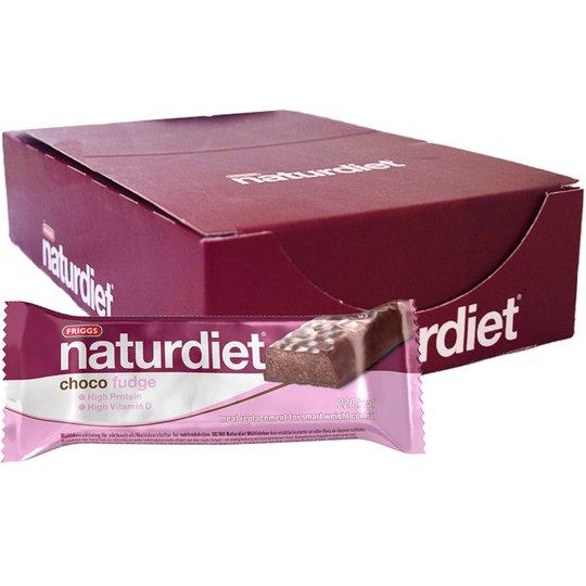 """Laatikollinen Ateriankorvikepatukoita """"Choco Fudge"""" 18 x 58g - 43% alennus"""