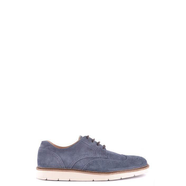 Hogan Men's Lace Ups Shoes Blue 187197 - blue 11
