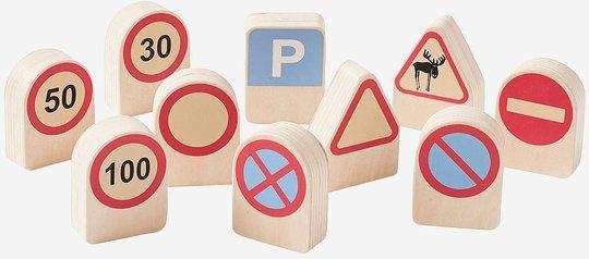 Kids Concept Aiden Trafikkskilt 10-pack