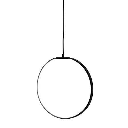 Pendellampe Svart Metall 35cm