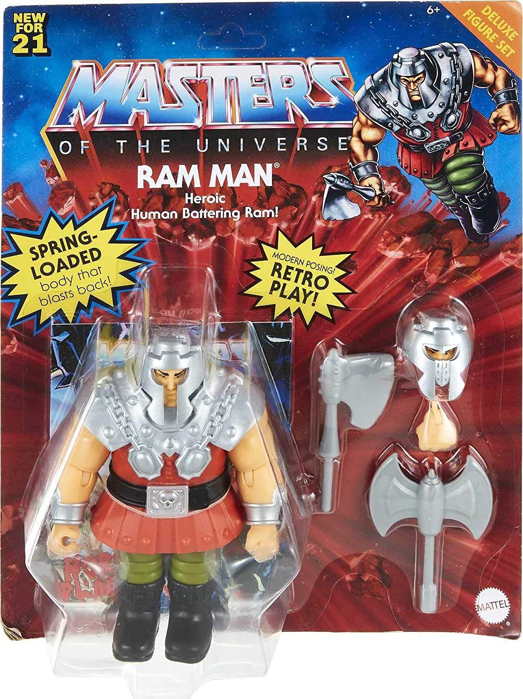Masters Of The Universe - Origins 14 cm Deluxe Figure - Ram Man (GVL78)
