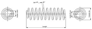 Jousi (auton jousitus), Etuakseli, MERCEDES-BENZ A-KLASS [W169], B-KLASS [W245], A1693212504