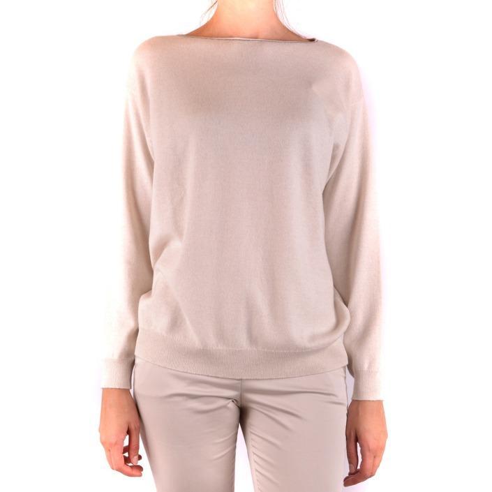 Brunello Cucinelli Women's Sweater Beige 163974 - beige L