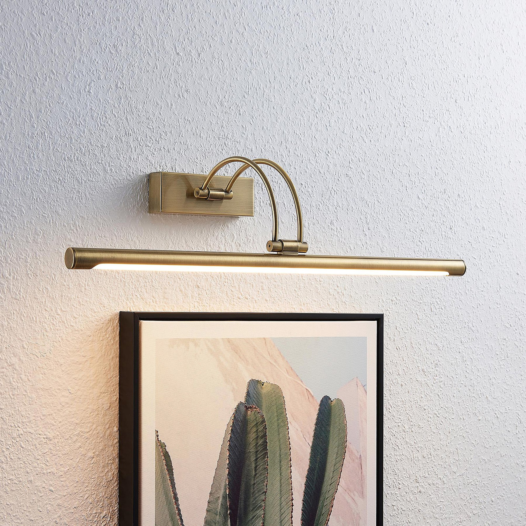 Lucande Dimitrij LED-bildelampe, buet