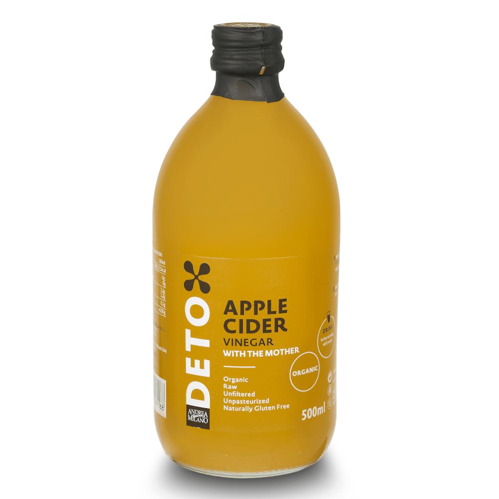Deto Apple Cider Vinegar 500ml by Andrea Milano