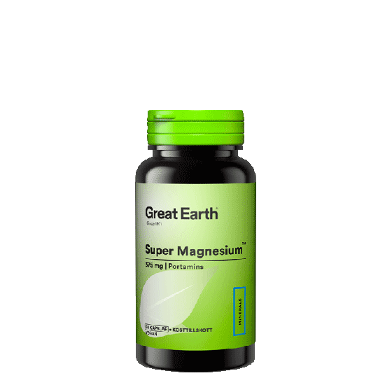 Super Magnesium 375 mg, 60 kapslar