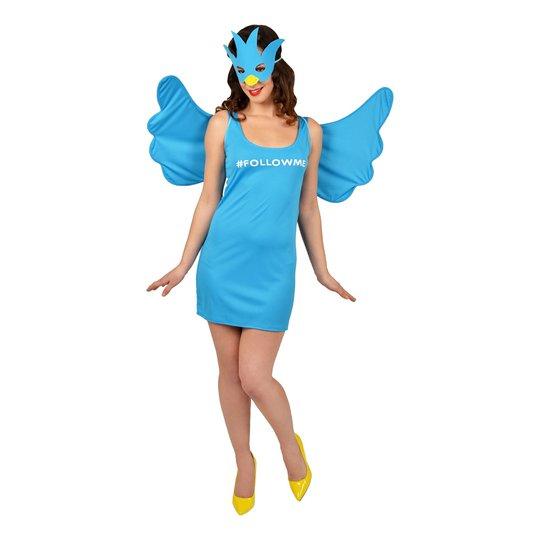 Twitter Maskeraddräkt - One size