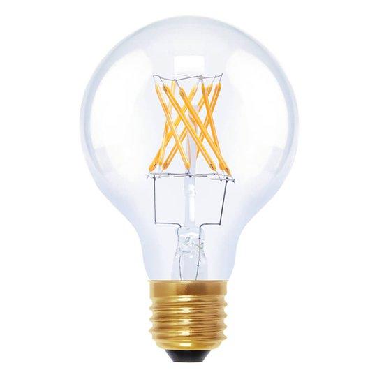 LED-pallovalo G80 E27 6 W 922 hiililangalla