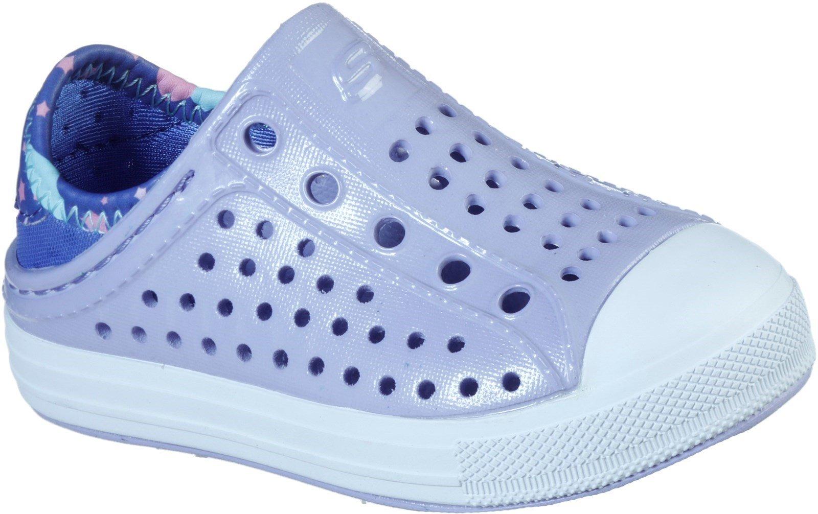 Skechers Women's Guzman Steps Slip On Sandal Lavender 30782 - Lavender 4