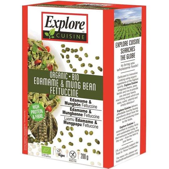 "Eko Bönpasta ""Edamame & Mung Bean Fettuccine"" 200g - 40% rabatt"