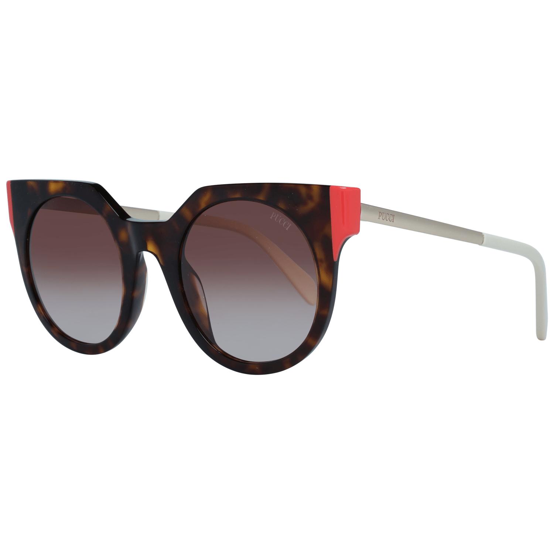 Emilio Pucci Women's Sunglasses Brown EP0120 5052F