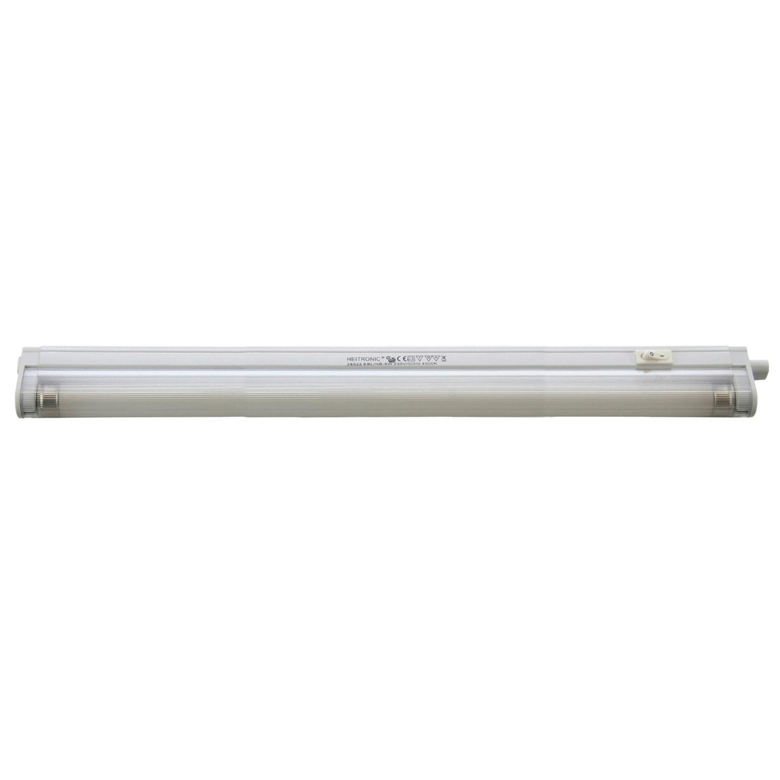 Innbyggingslampe med ECG 8 W universalhvit