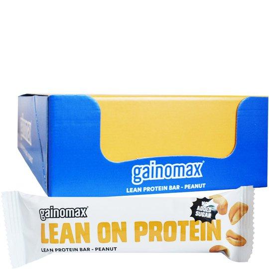 "Hel Låda Proteinbars ""Peanut"" 15 x 50g - 60% rabatt"