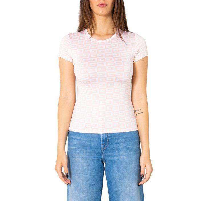 Guess Women's T-Shirt Various Colours 252437 - pink M