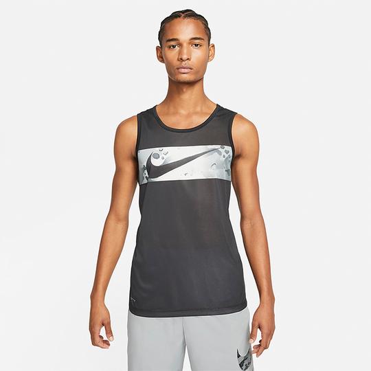 Nike Leg Tank Camo, Black
