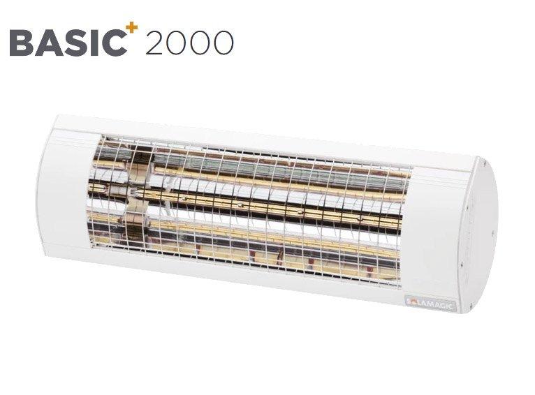 Solamagic - 2000 BASIC+ Patio Heater - White