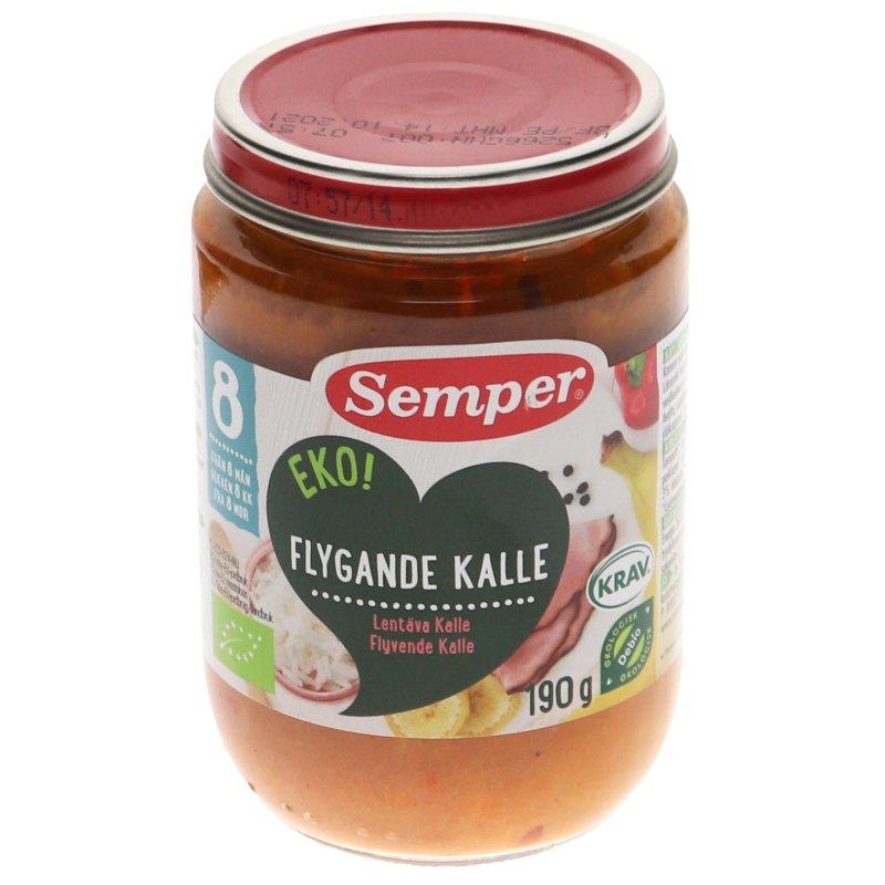 Eko Flygande Kalle Ris, Skinka & Banan - 6% rabatt