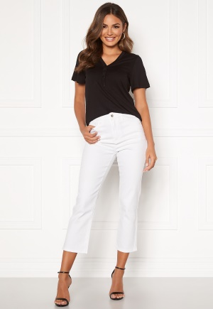 Happy Holly Maja high waist jeans White 40