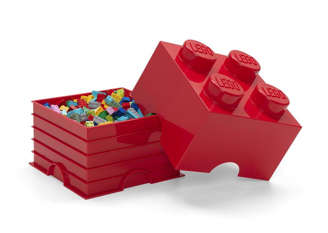 LEGO Säilytyslaatikko 4, Punainen