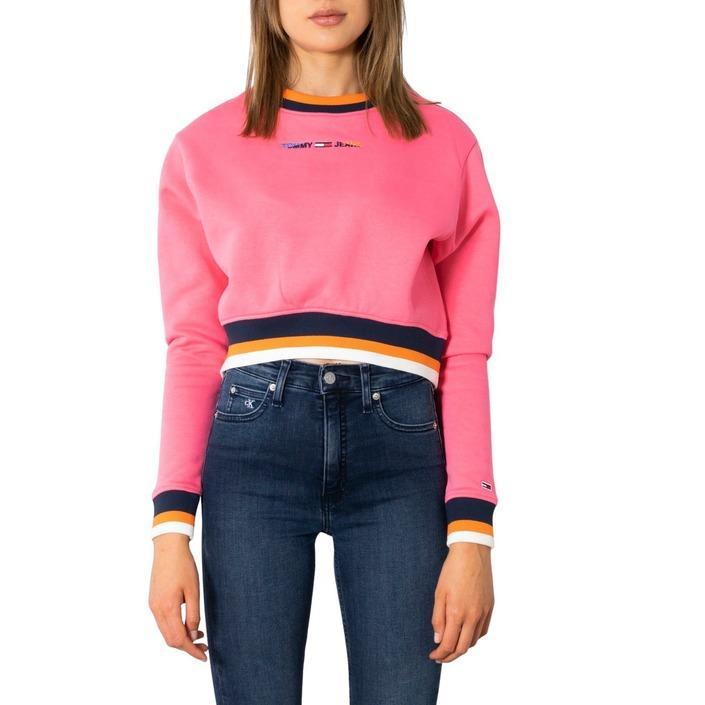 Tommy Hilfiger Jeans Women's Sweatshirt Pink 299808 - pink XXS