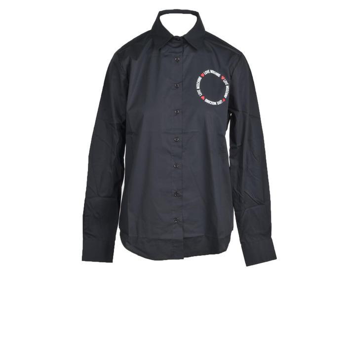 Love Moschino Women's Shirt Black 322225 - black 40